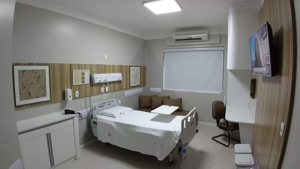 melhor plano de saúde - acomodações hospital do círculo caxias do sul