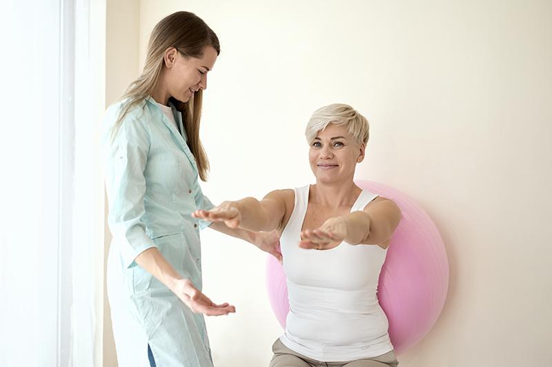 influência da fisioterapia